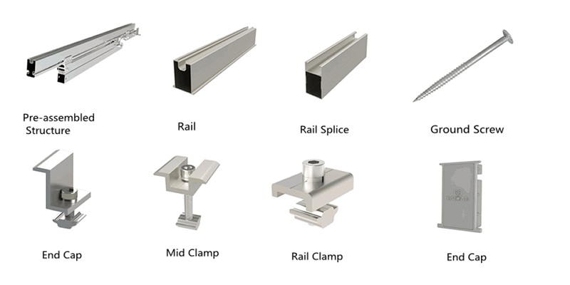 accessories of aluminum brackets